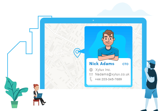 Customers Using Salesforce by Location